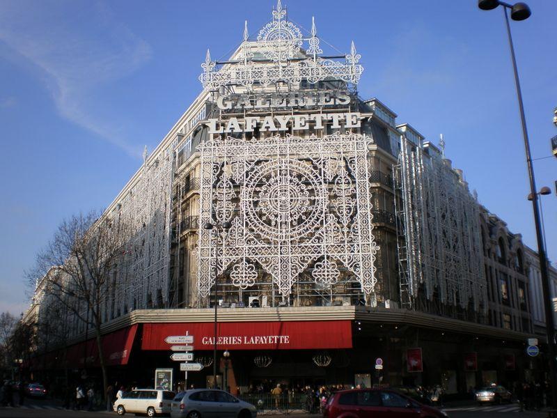 Paris grands magasins les galeries lafayette le printemps - Magasin le printemps paris ...